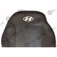 Чехлы на сиденья Elegant - Hyundai Accent (цельный) с 2010 г