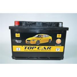 TOP CAR 6СТ-75Ah L+ 680A