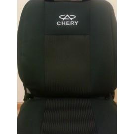 Чехлы на сиденья АВ-Текс - Chery Amulet `04-