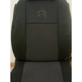 Чехлы на сиденья Elegant - Citroen С1 с 2005 г цельн.
