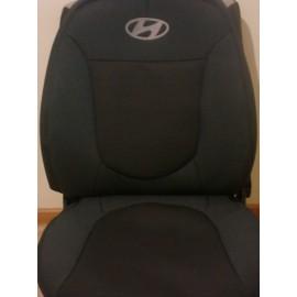 Чехлы на сиденья Elegant - Hyundai Getz (цельный) с 2002 г