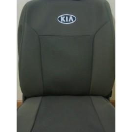 Чехлы на сиденья Elegant - Kia Carens (5 мест) с 2006-12 г