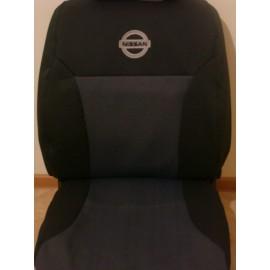Чехлы на сиденья Elegant - Nissan Micra (K12) с 2003-10 г(цельная)