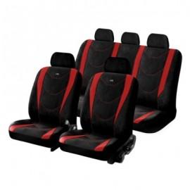Авточехлы Hadar Rosen --  CRUISE красный/черный