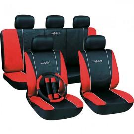 Авточехлы Milex - Tattoo AG-27009/7 (комплект) красный