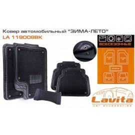 """Универсальные коврики Lavita """"Зима-Лето"""" - 4 шт."""