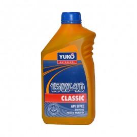 Масло Yuko Classic 15W-40 1л