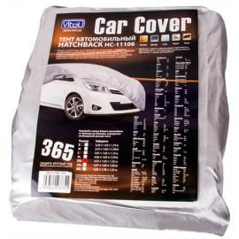 Тент для авто Vitol M Polyester HC11106 (серый)