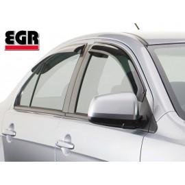 EGR Дефлекторы окон Nissan Qushqai 2007 (дымчатый) 2шт