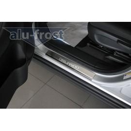 Накладки на пороги Alu-Frost - Chevrolet Orlando 2011+ (ком.)