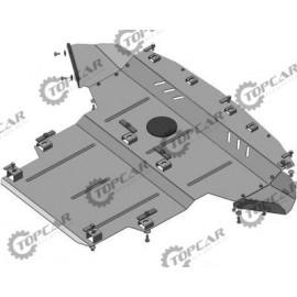 Защита двигателя - Audi A4 B6 `00-04