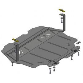 Защита двигателя - Seat Altea `04-
