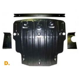 Защита двигателя Полигон - BMW 523i/525 E60 `05- (D)