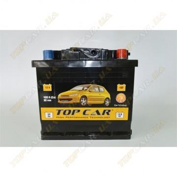 Аккумулятор TOP CAR 6СТ-50Ah R+ 400A