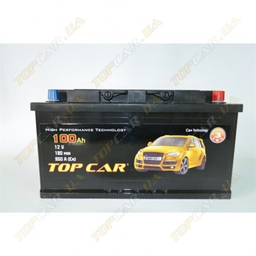 Аккумулятор TOP CAR  6СТ-100Ah L+ 850A