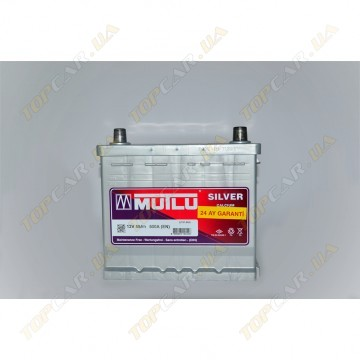 Аккумулятор Mutlu (Turkey) Mega Calcium 55Ah JR+ 500A