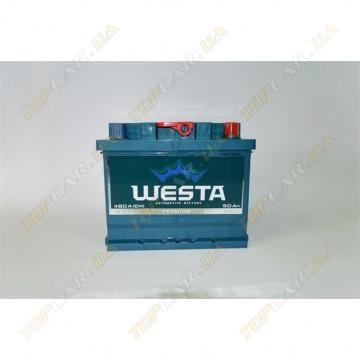 Аккумулятор WESTA 6СТ-50Ah R+ 490A
