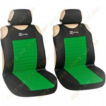 Майки Milex Tango AG-27071/33 (передние сиденья+подголовники) зеленый