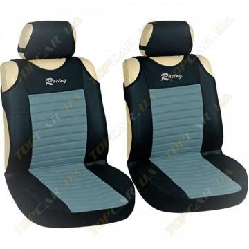 Майки Milex Tango AG-27071/4 (передние сиденья+подголовники) серый