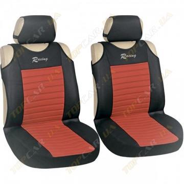 Майки Milex Tango AG-27071/7 (передние сиденья+подголовники) красный