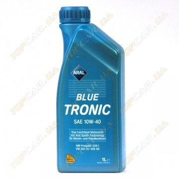 Масло Aral Blue Tronic SAE 10W-40 1л
